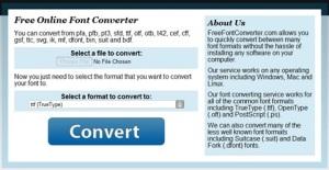 FreeFontConverter